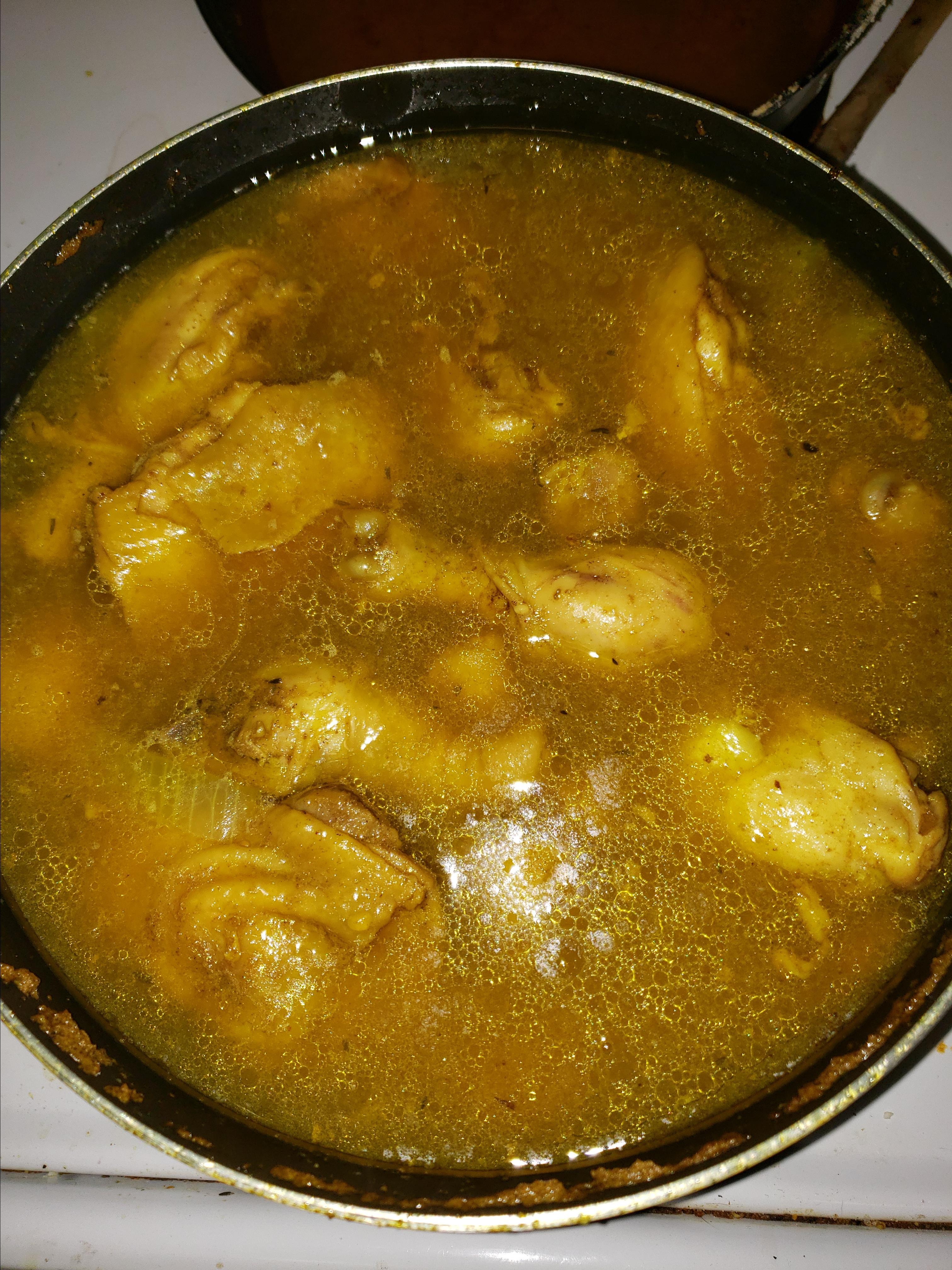 West Indian Curried Chicken purplekd