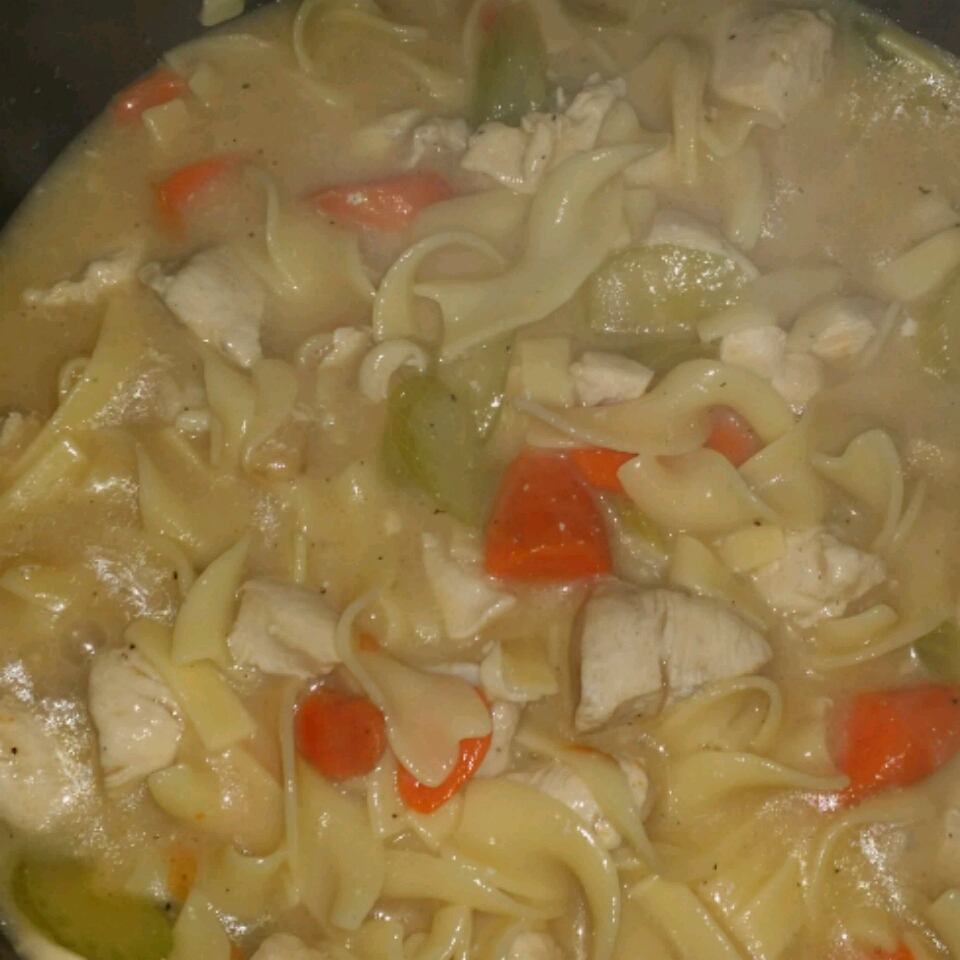 Home Made Chicken Noodle Soup! Pinky Kim