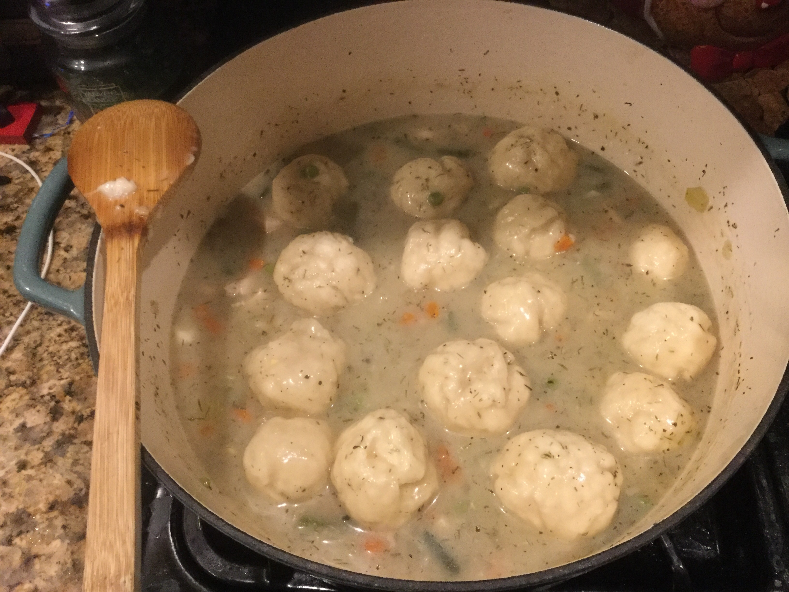 Chicken Stew with Dumplings