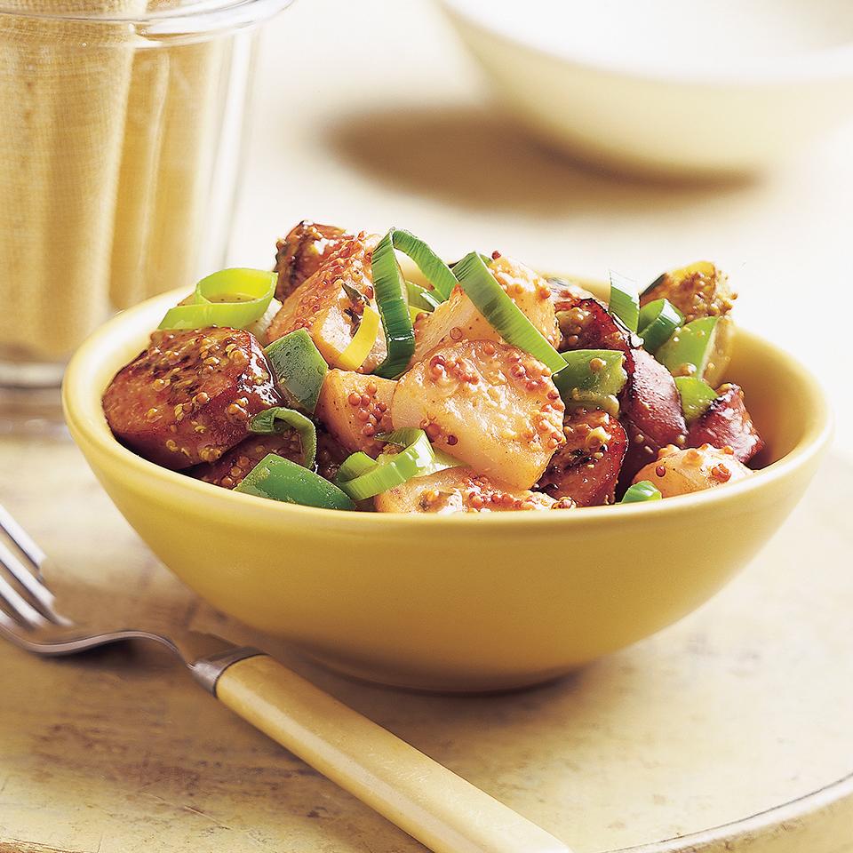 Warm Sausage & Potato Salad Diabetic Living Magazine
