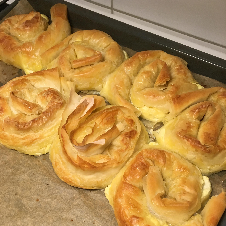 Feta Cheese Burek (Phyllo Dough)