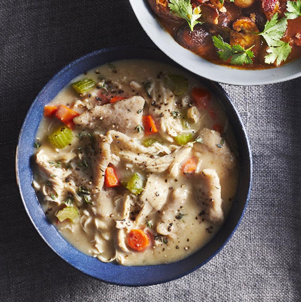 Chicken & Dumplings Robin Bashinsky