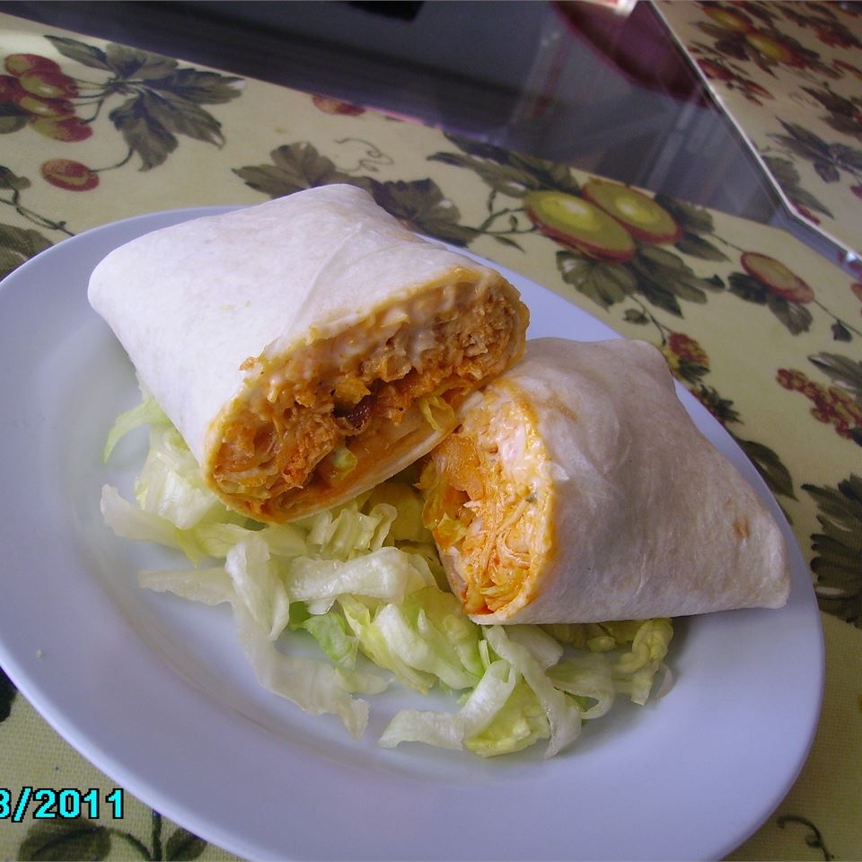 Buffalo Chicken and Ranch Wraps figgy