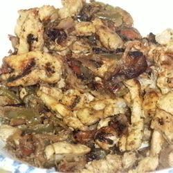 Tangy Chicken Fajitas Kaneshiro Family
