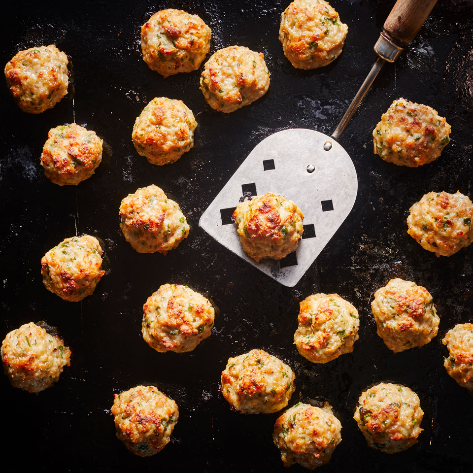 Easy Italian Chicken Meatballs