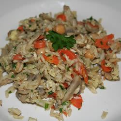 Home-Style Brown Rice Pilaf Candice