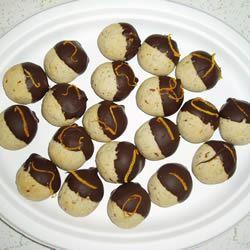 Orange Pecan Cookies image