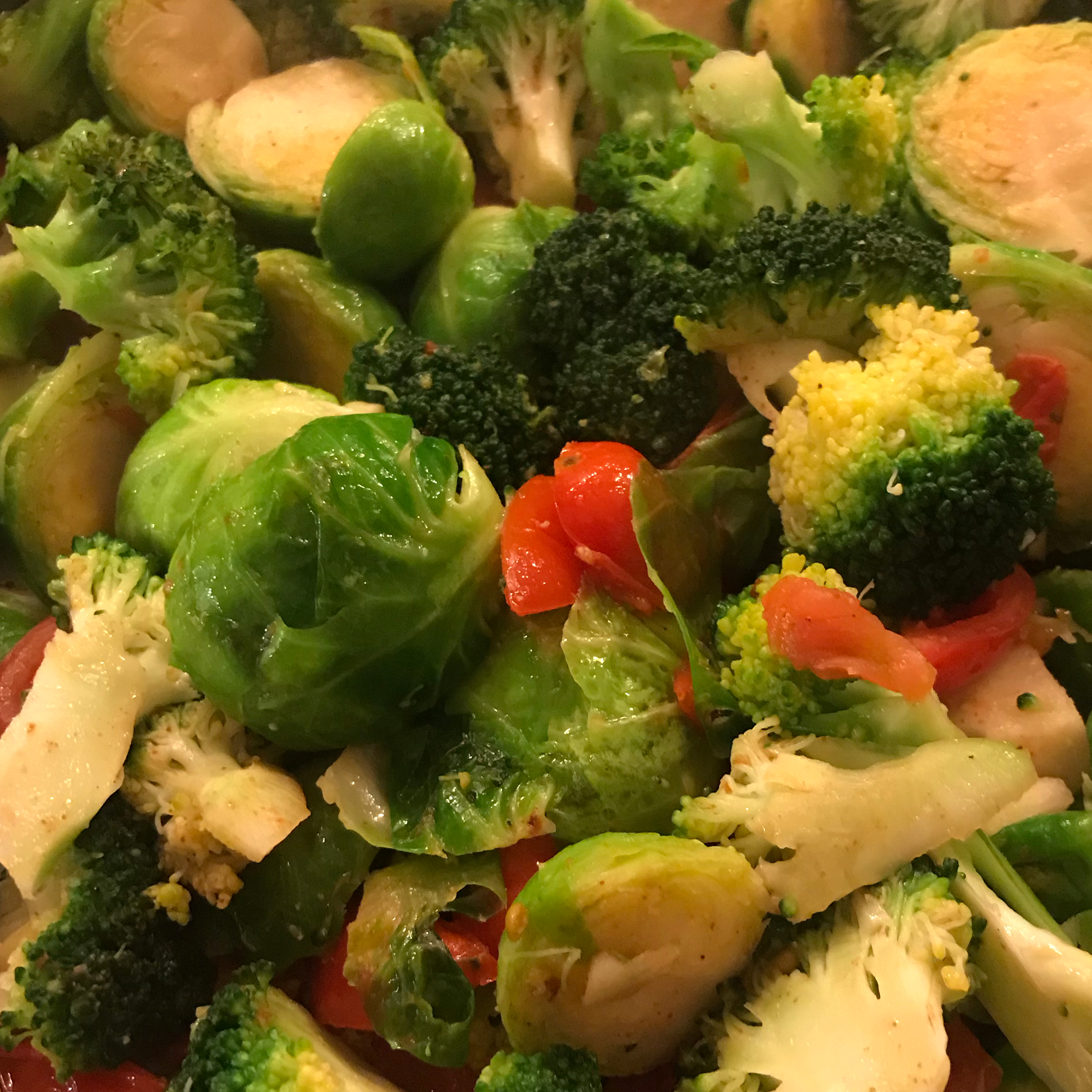 Broccoli and Brussels Sprout Delight Barbara Tosi Harder