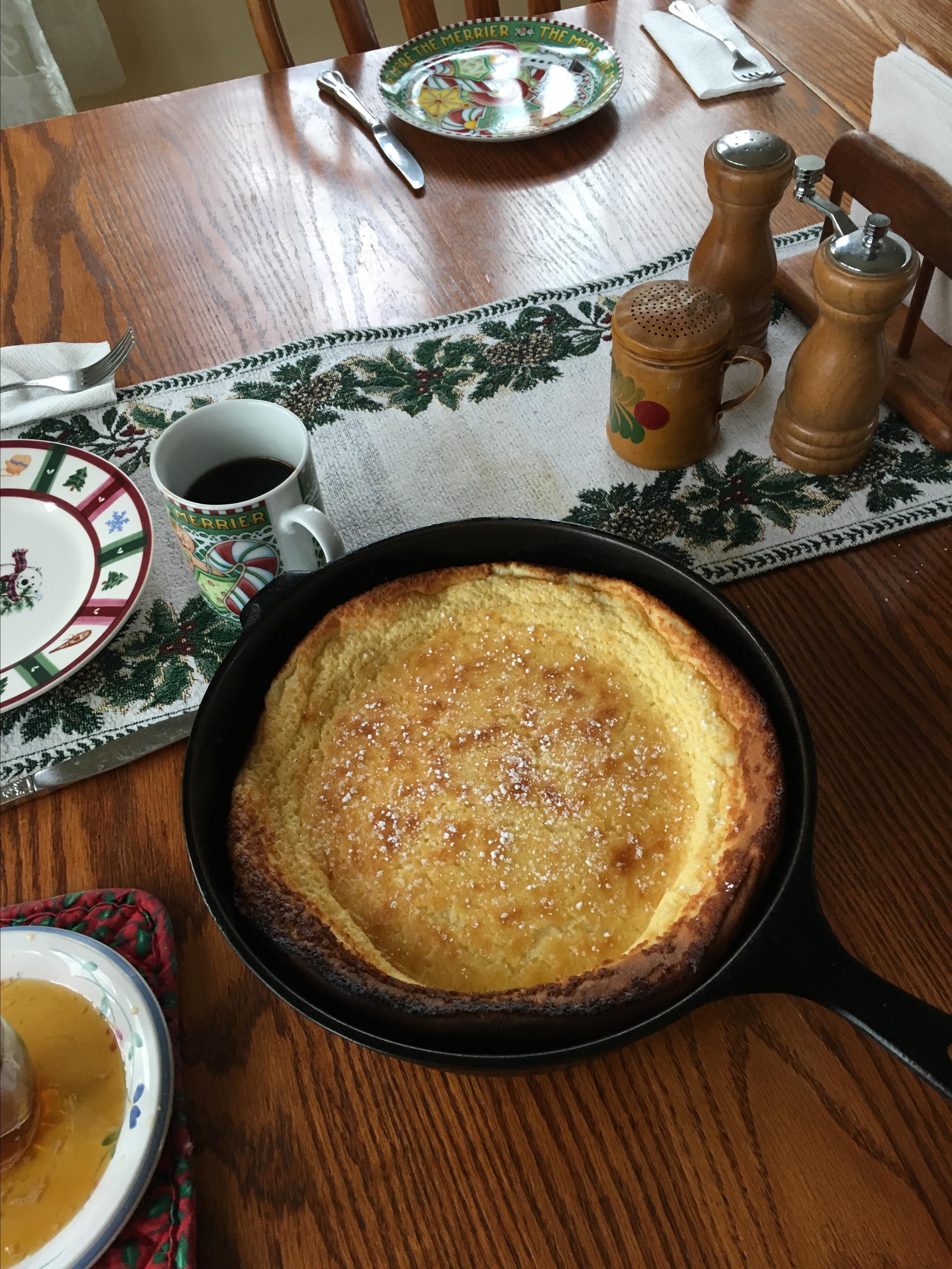 Finnish Kropser (Baked Pancakes)