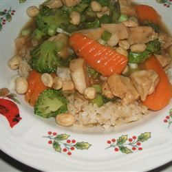 Asian Chicken with Peanuts Linda Farrell