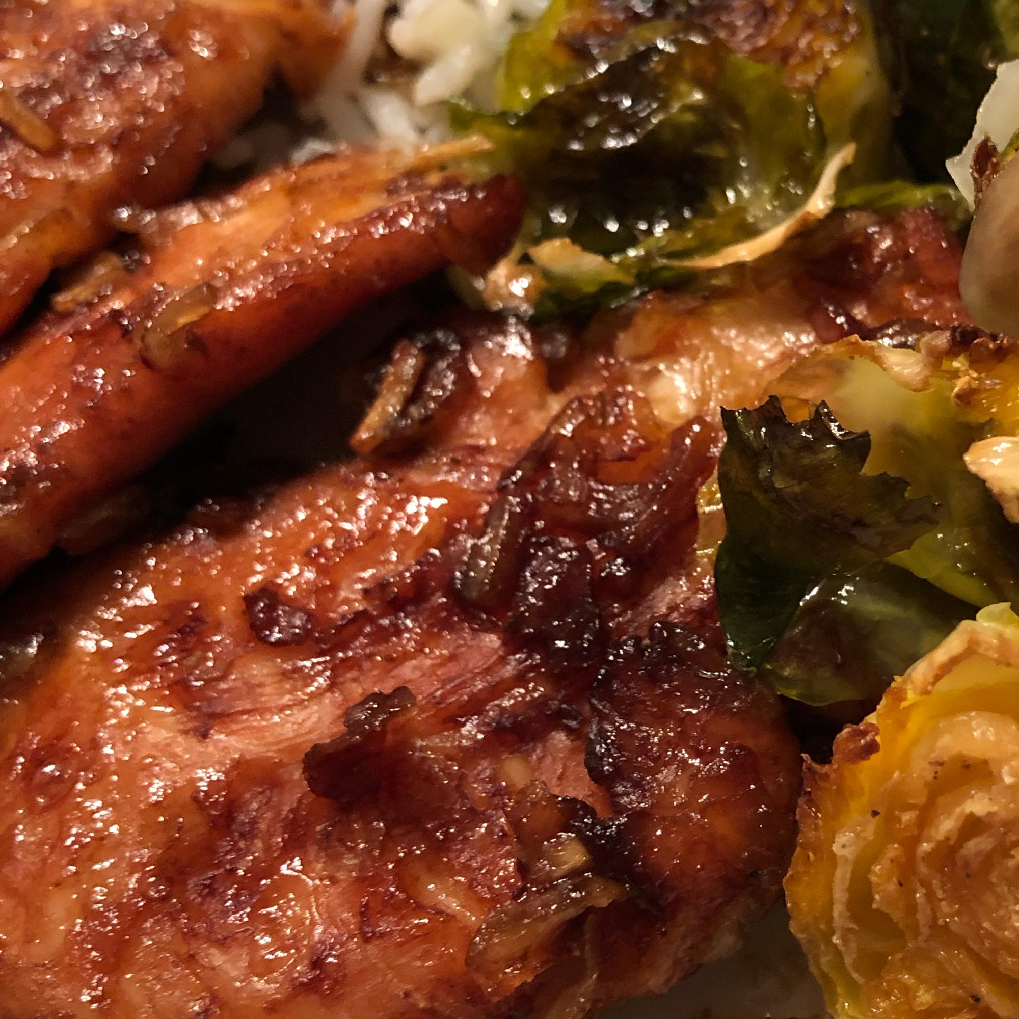Tender Onion Baked Chicken