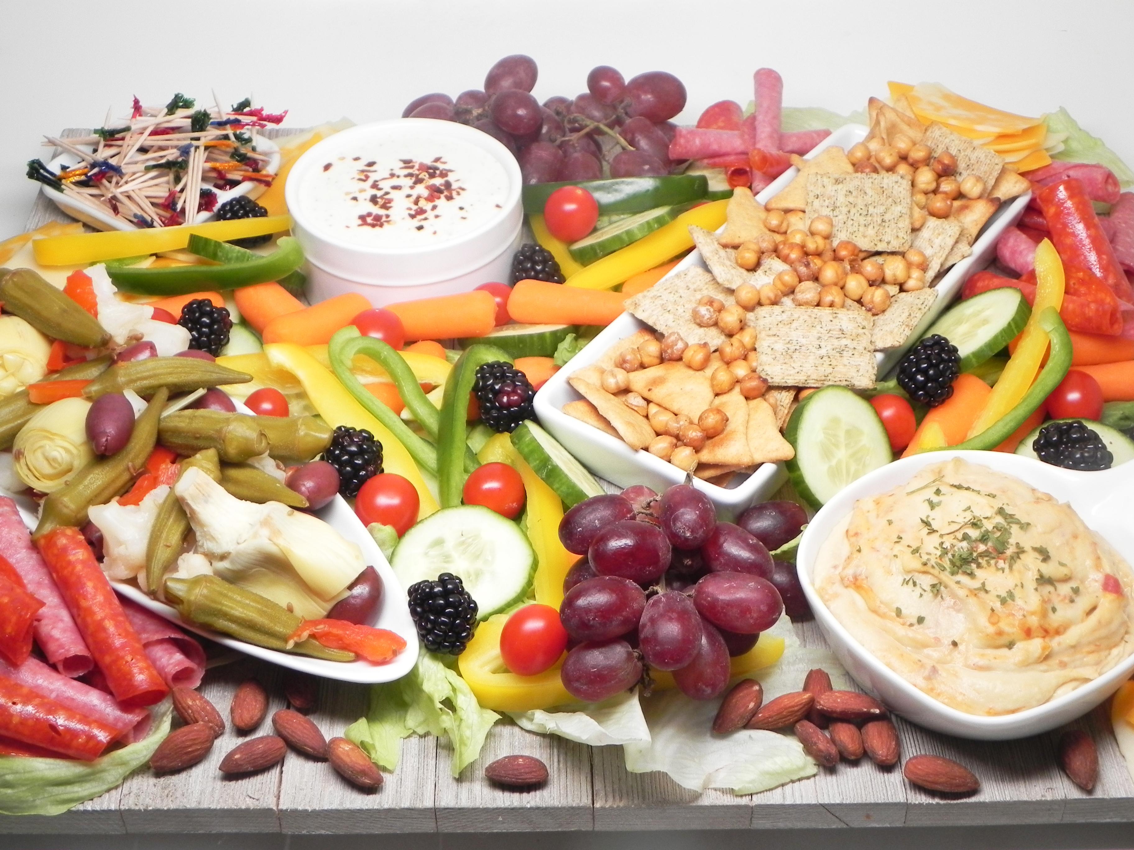 Greek-Inspired Snack Board