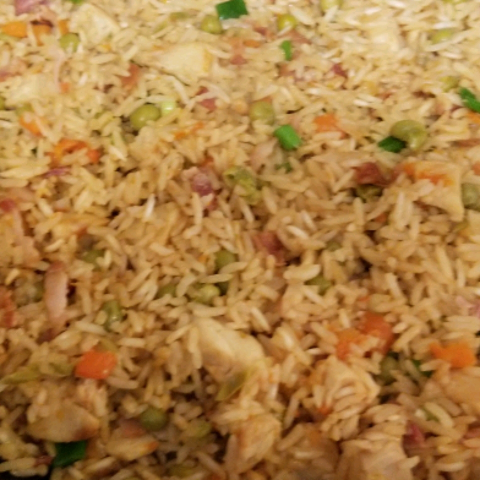 Bacon and Chicken Fried Rice