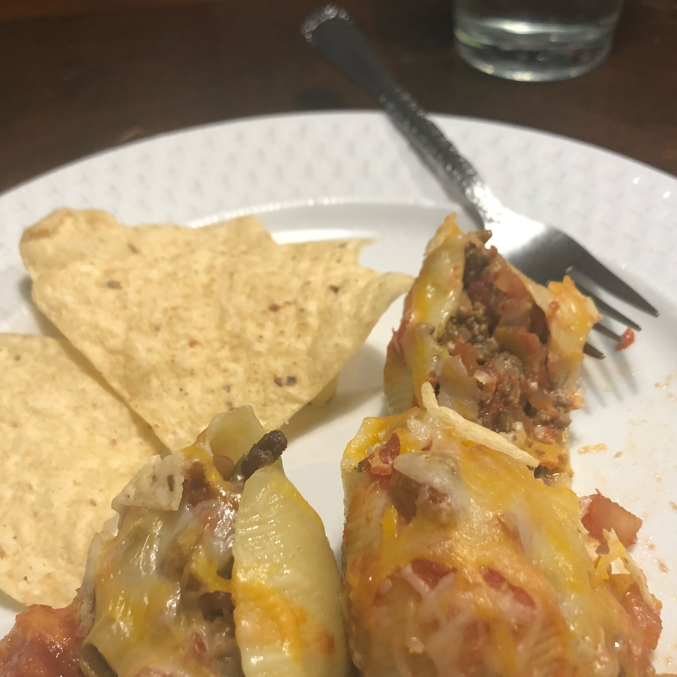 Tacos in Pasta Shells Shellyb22
