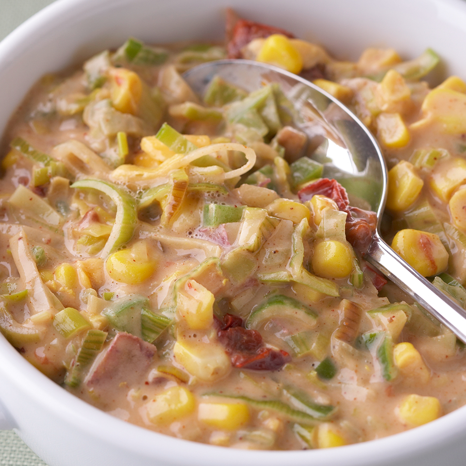Chipotle & Corn Chowder Diabetic Living Magazine