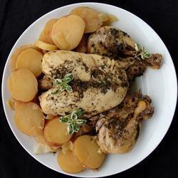 Greek Slow Cooker Chicken