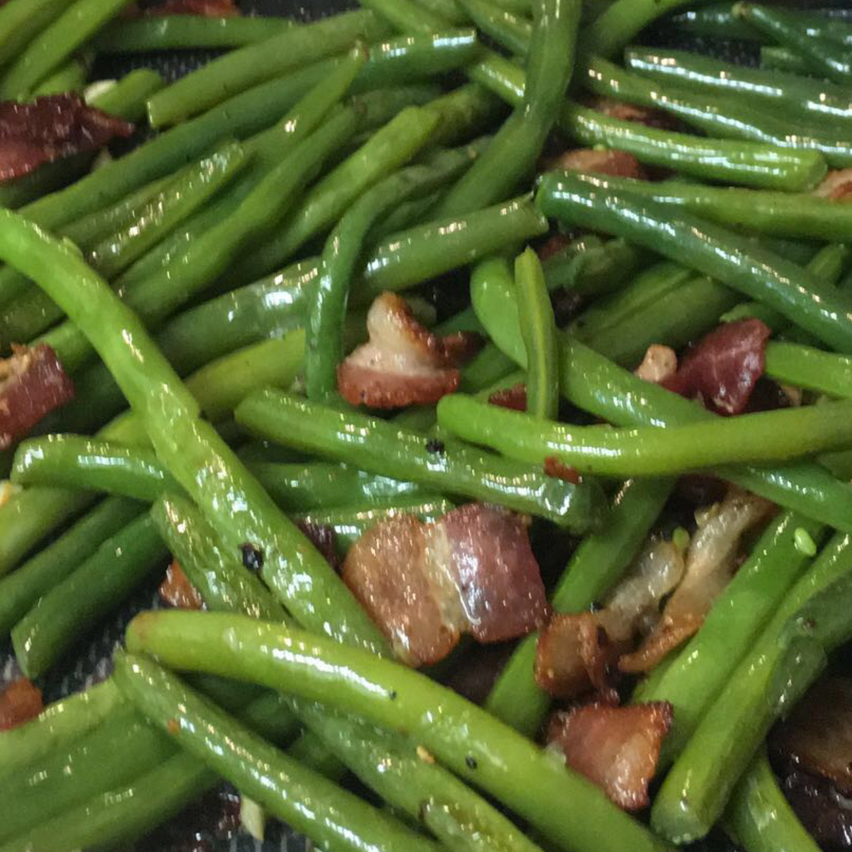 Green Beans with Almonds_image
