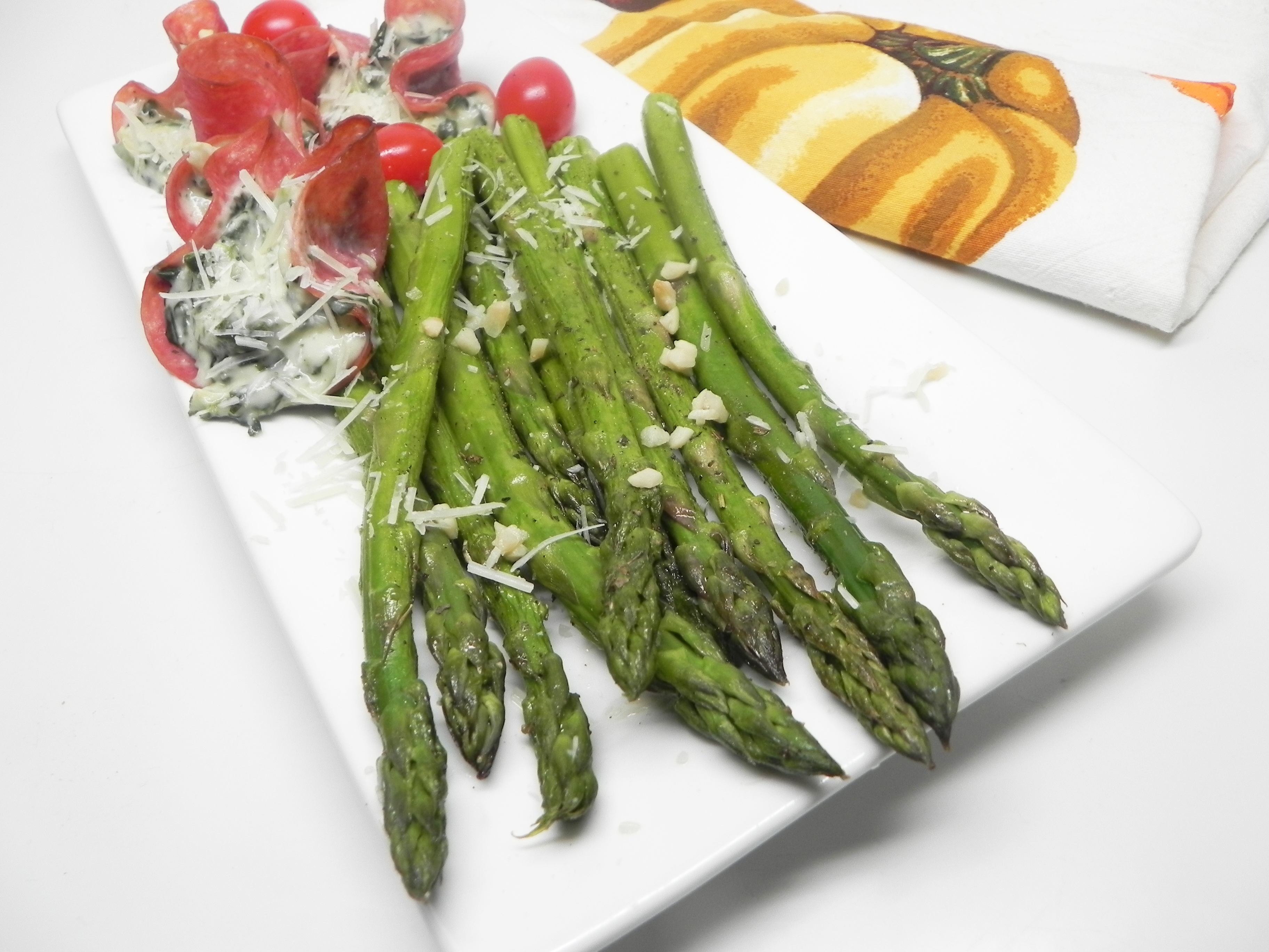 Quick And Easy Baked Asparagus Recipe Allrecipes