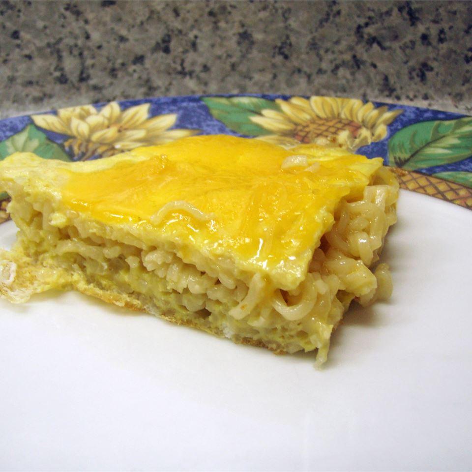 Ramen Noodle Frittata kimbernic