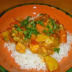 Chicken Stew With Coconut Milk kriss925