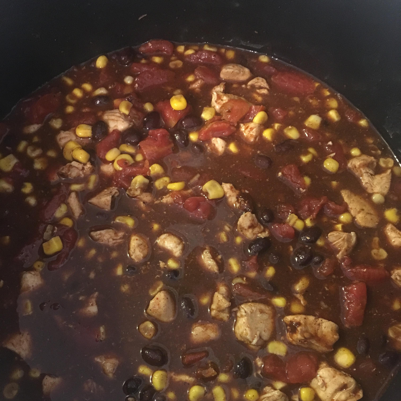 Fifteen Minute Chicken Chili Jennifer Moss