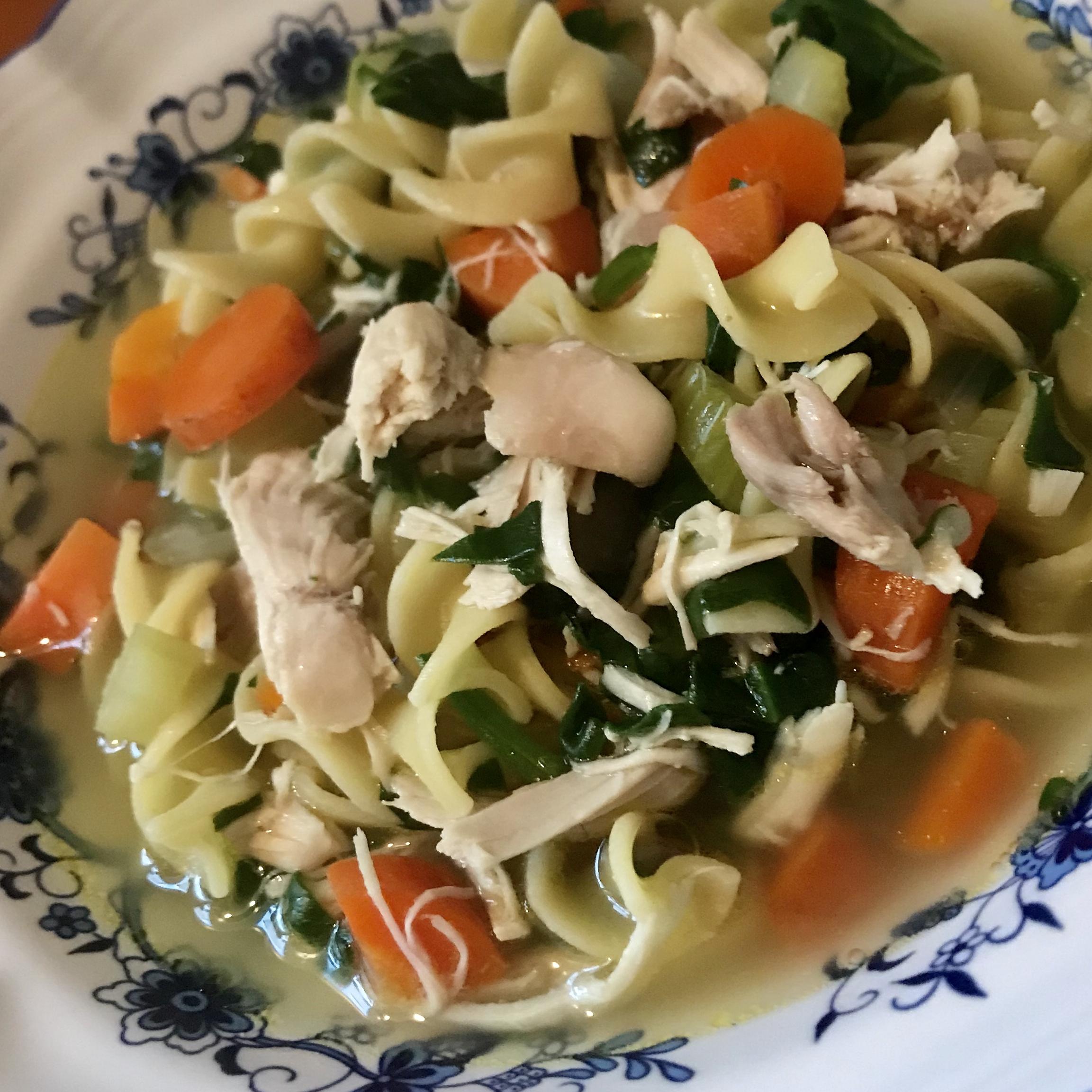 neverfail chicken noodle soup recipe  allrecipes
