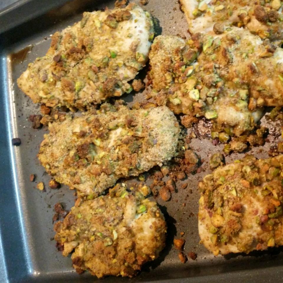 Pistachio Crusted Chicken Zack Thompson