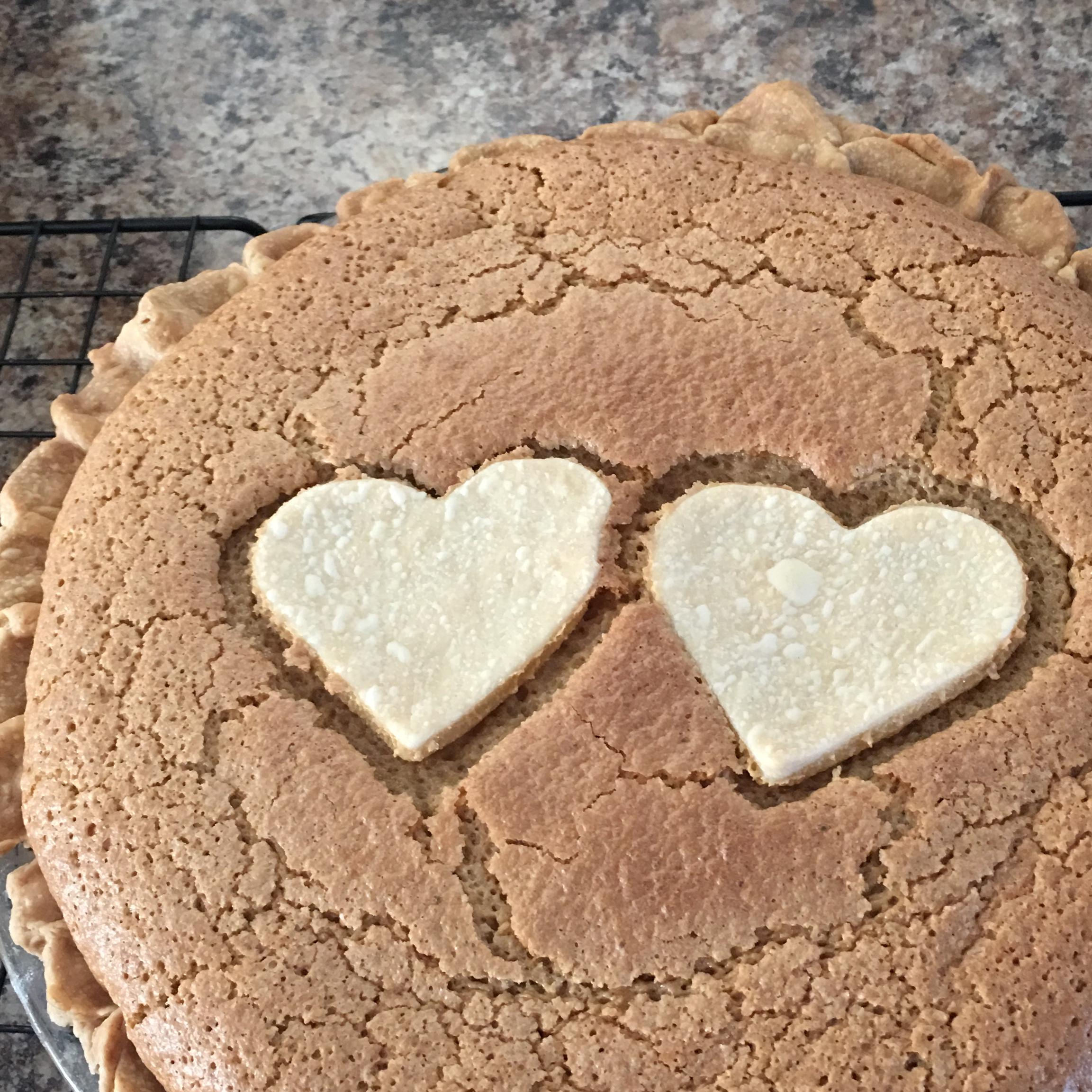 Quebec City Sugar Pie with Thick Cream image
