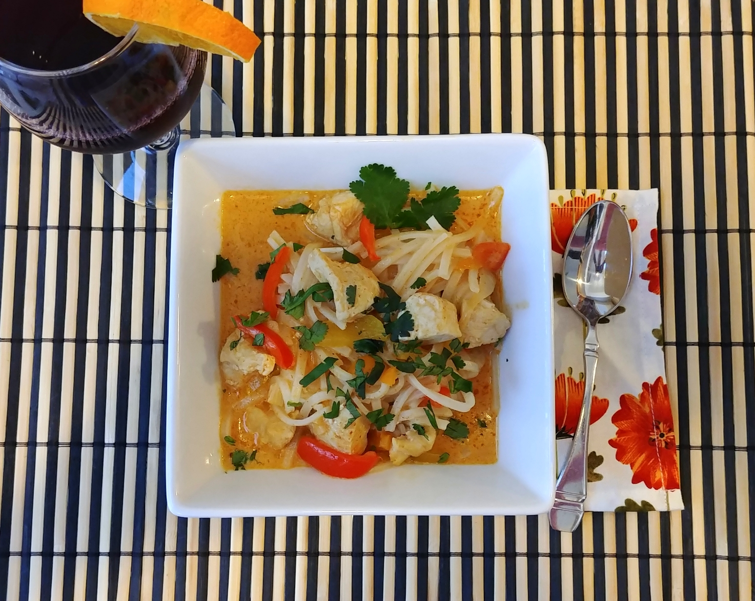 Four-Ingredient Red Curry Chicken Chef Mo