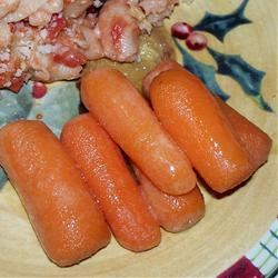 FROGHOPPER's Candied Ginger Carrots