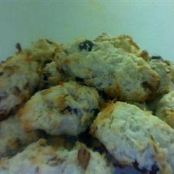 Coconut Raisin Cookies image