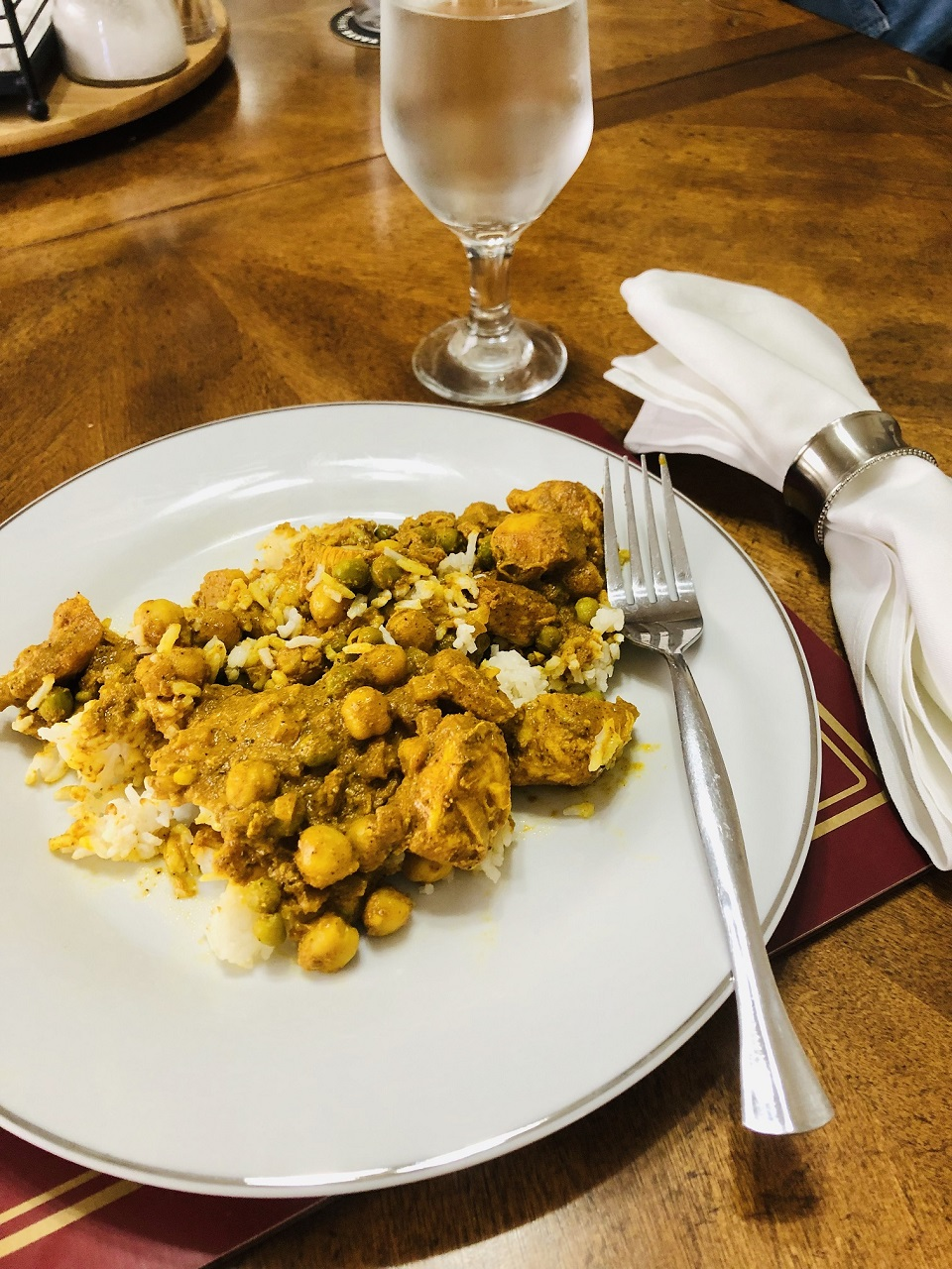 Indian Curried Chicken Thighs