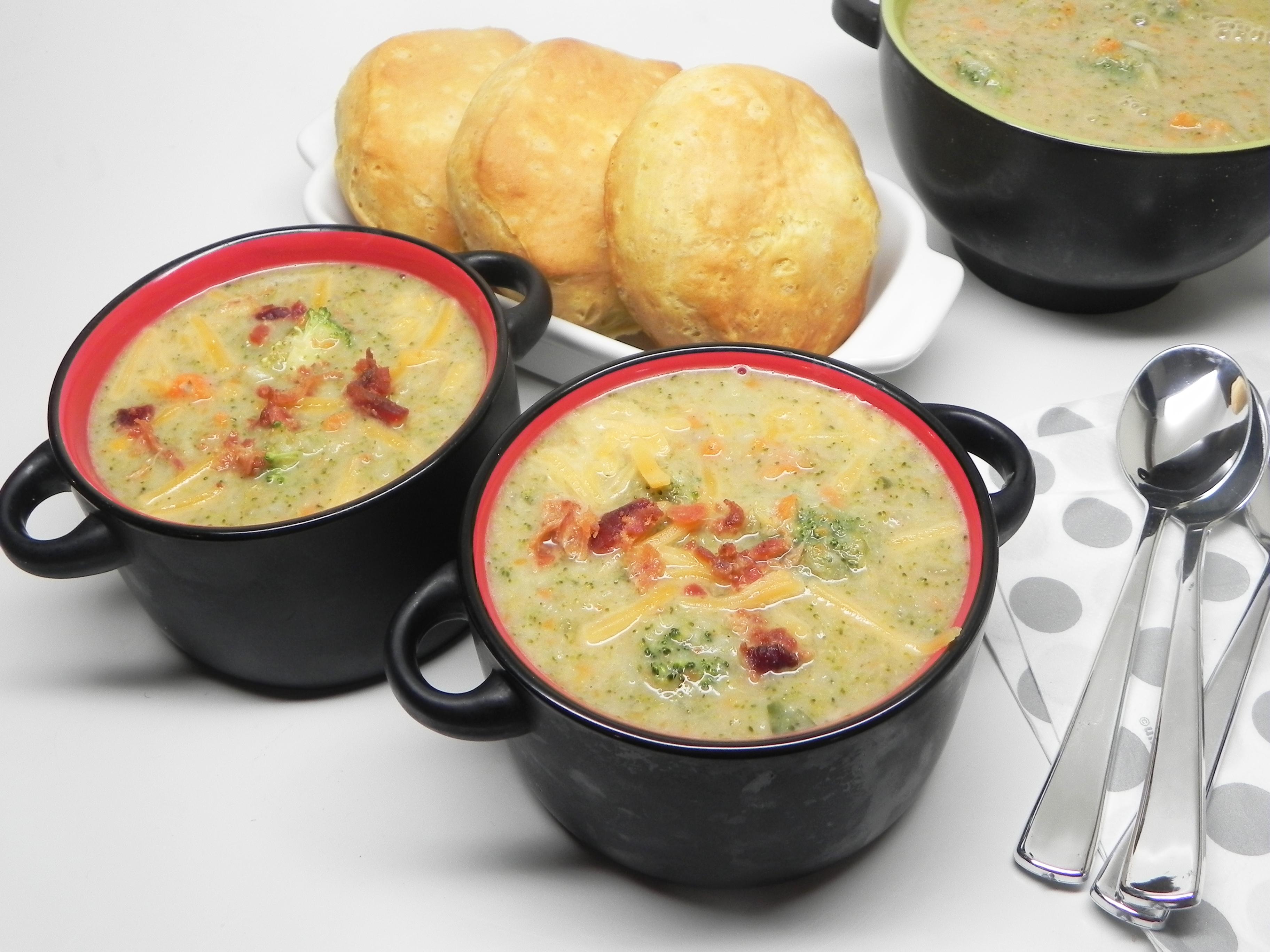 Broccoli No-Cheese Soup Stephen Williams