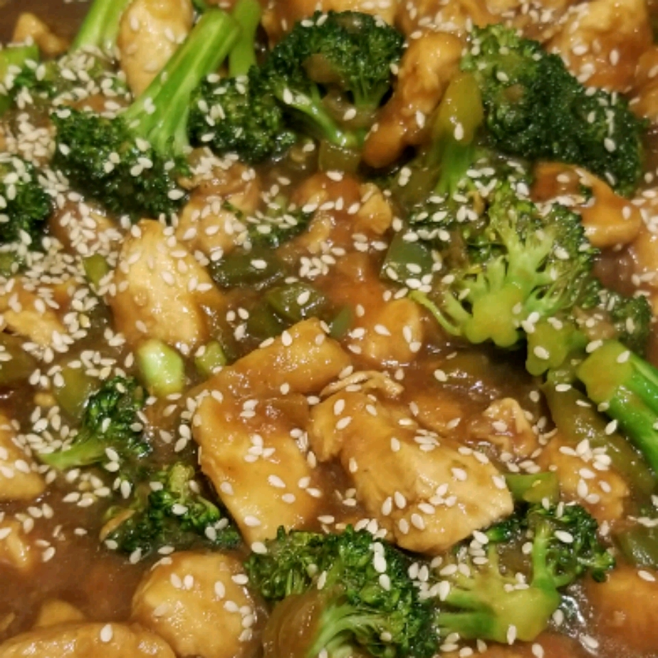 Ginger Chicken with Cashews Kcy