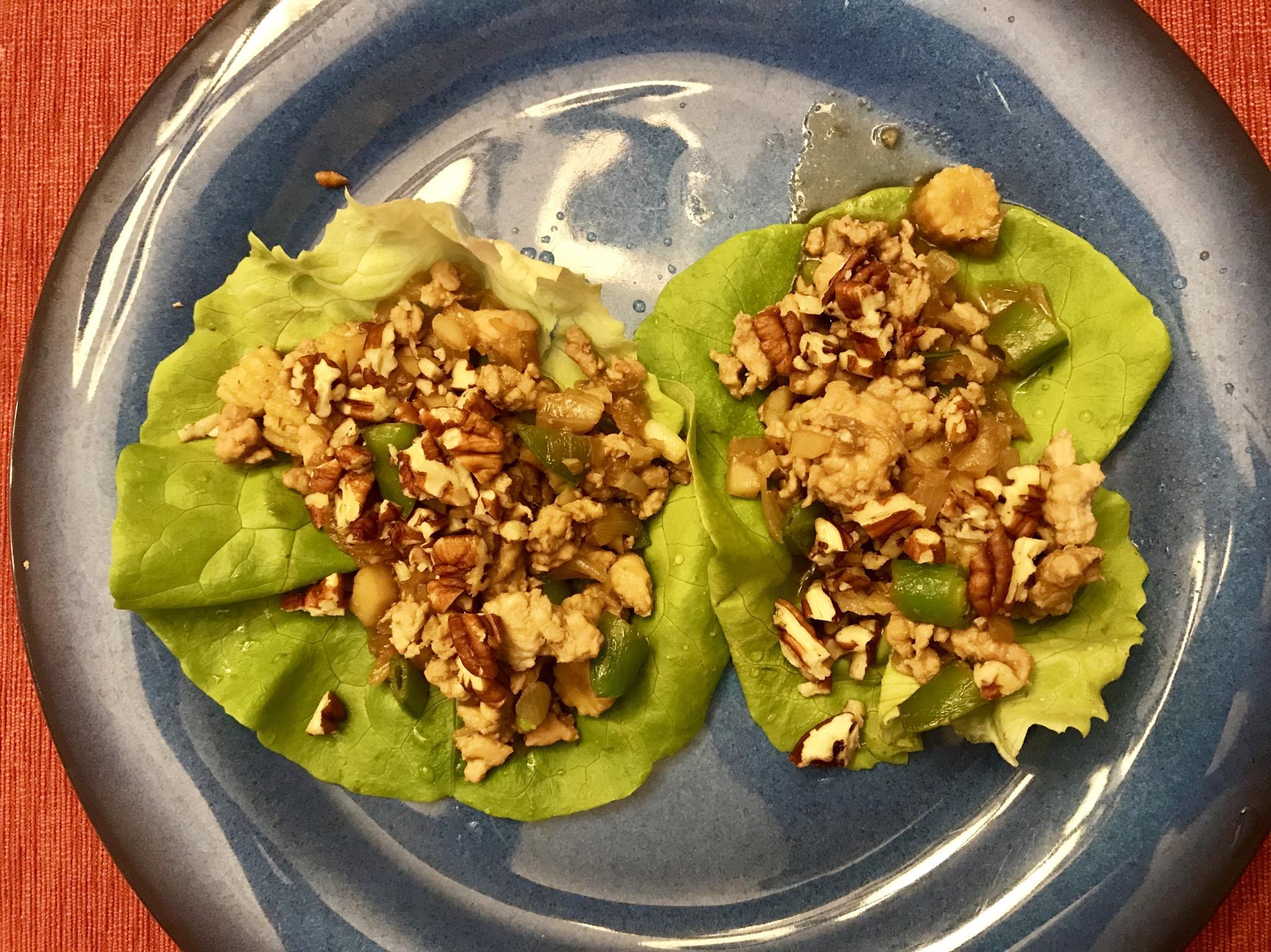 Tantalizing Chicken Lettuce Wraps Tamra Scott-Hunt