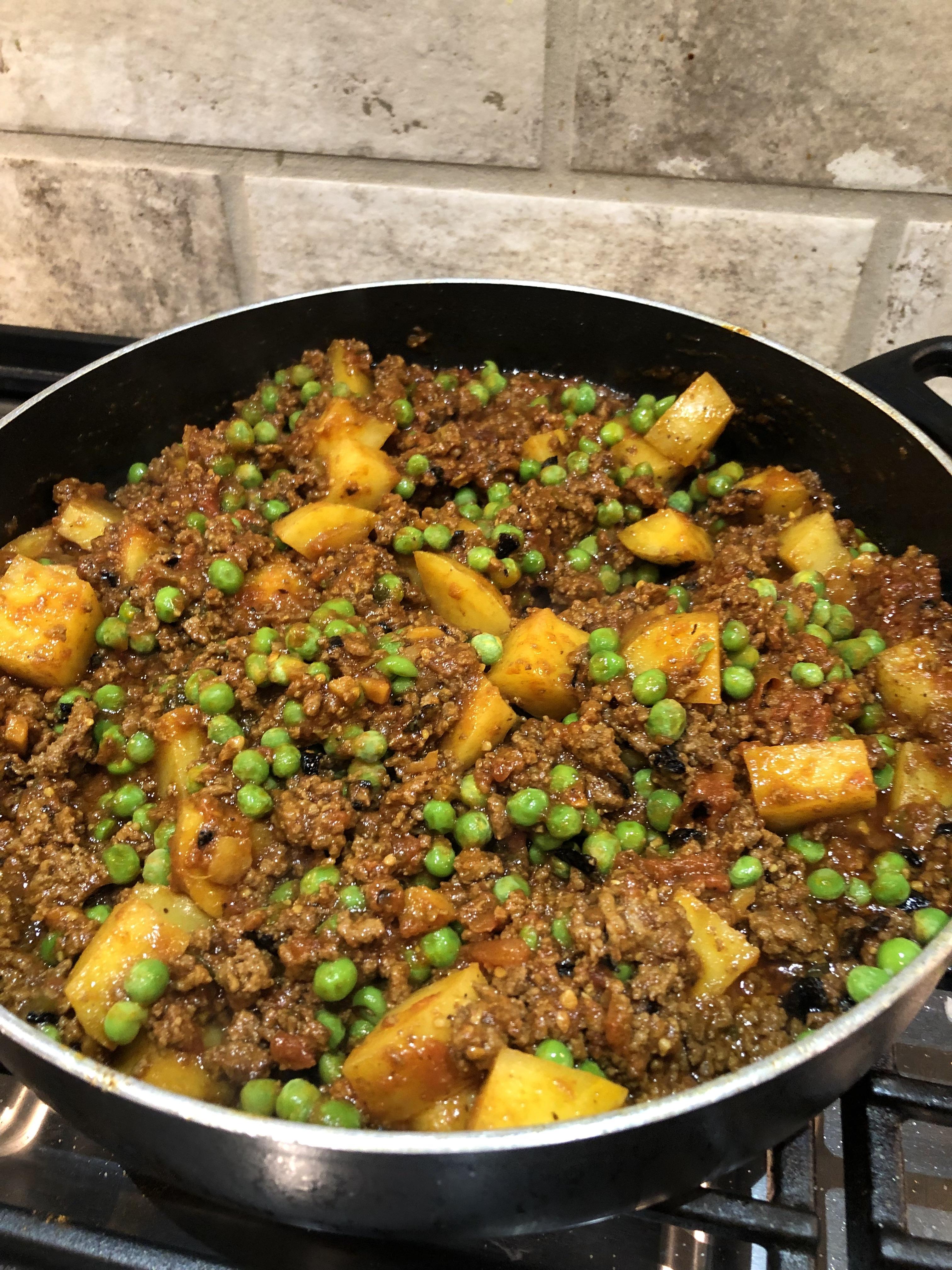 Keema Aloo (Ground Beef and Potatoes) image