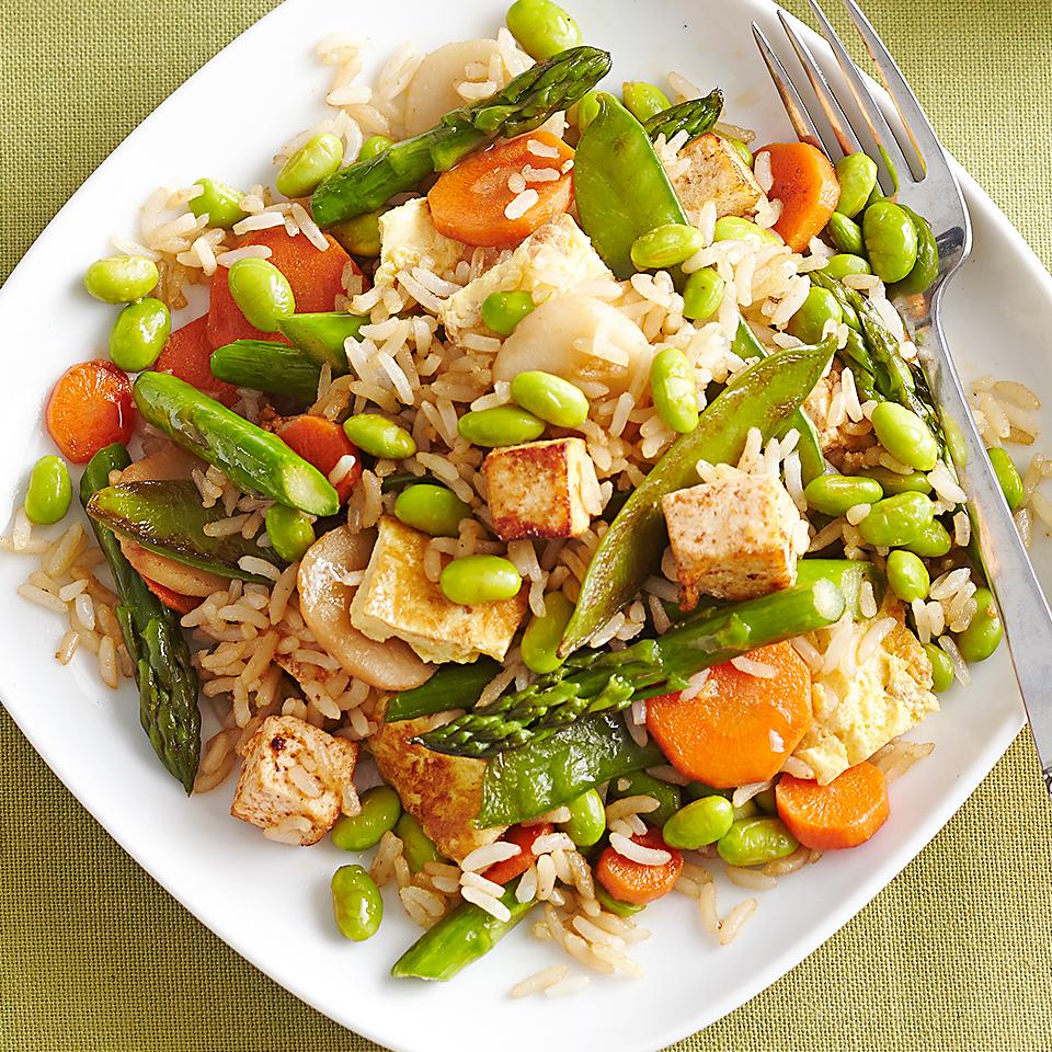 Vegetarian Fried Rice Diabetic Living Magazine