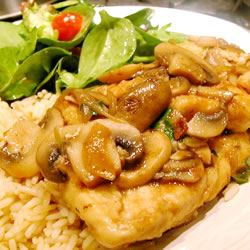 Easy Chicken Marsala sal