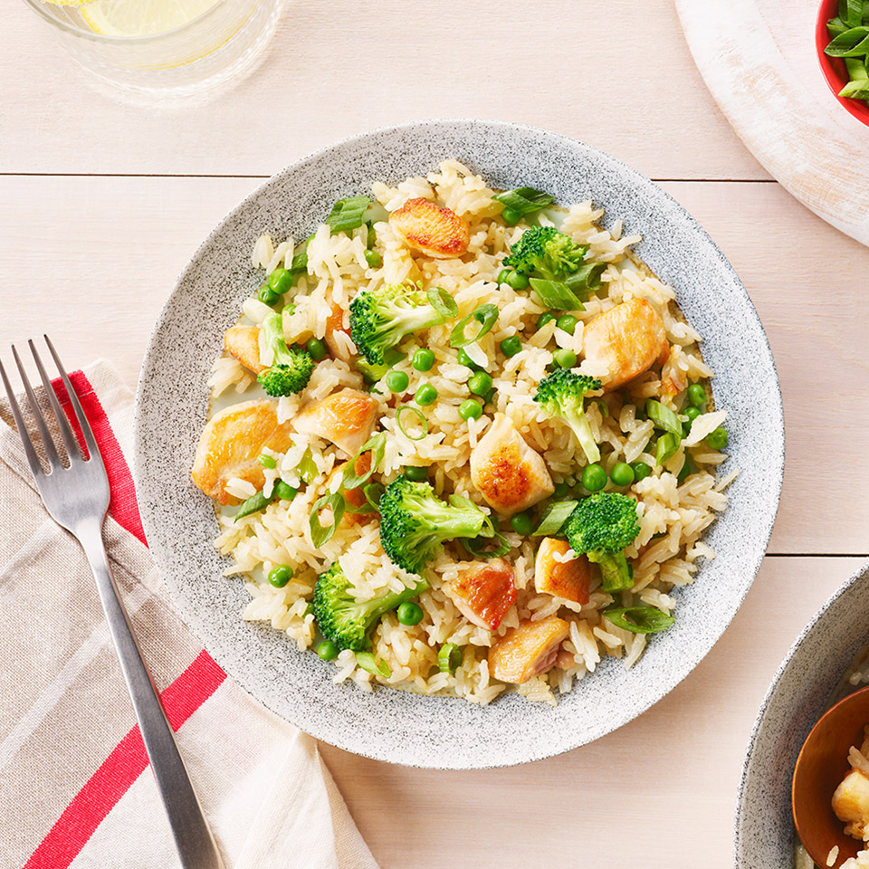 CAMPBELL'S(R) One-Pan Chicken Fried Rice
