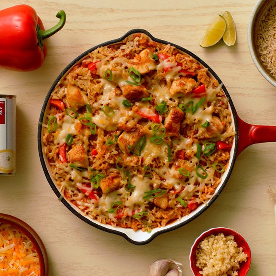 CAMPBELL'S(R) Chicken Enchilada Skillet Campbell's Canada