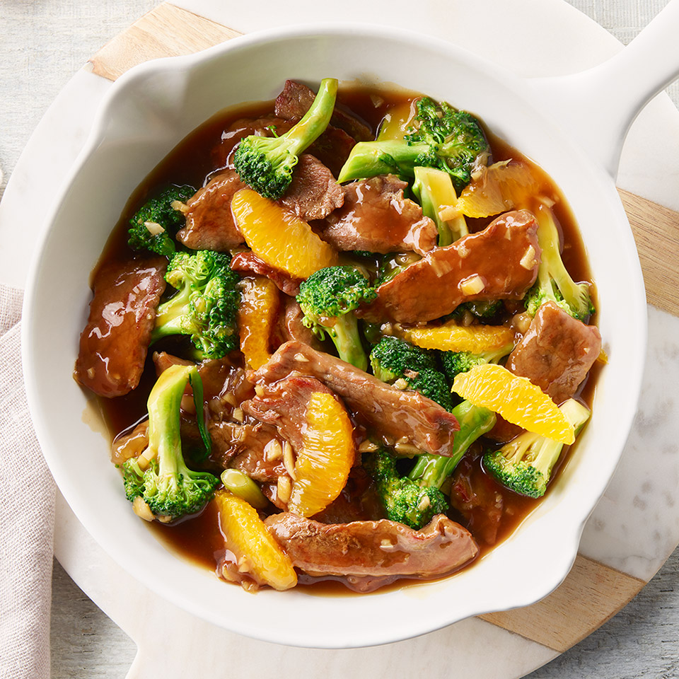 CAMPBELL'S(R) Beef and Orange Stir-Fry