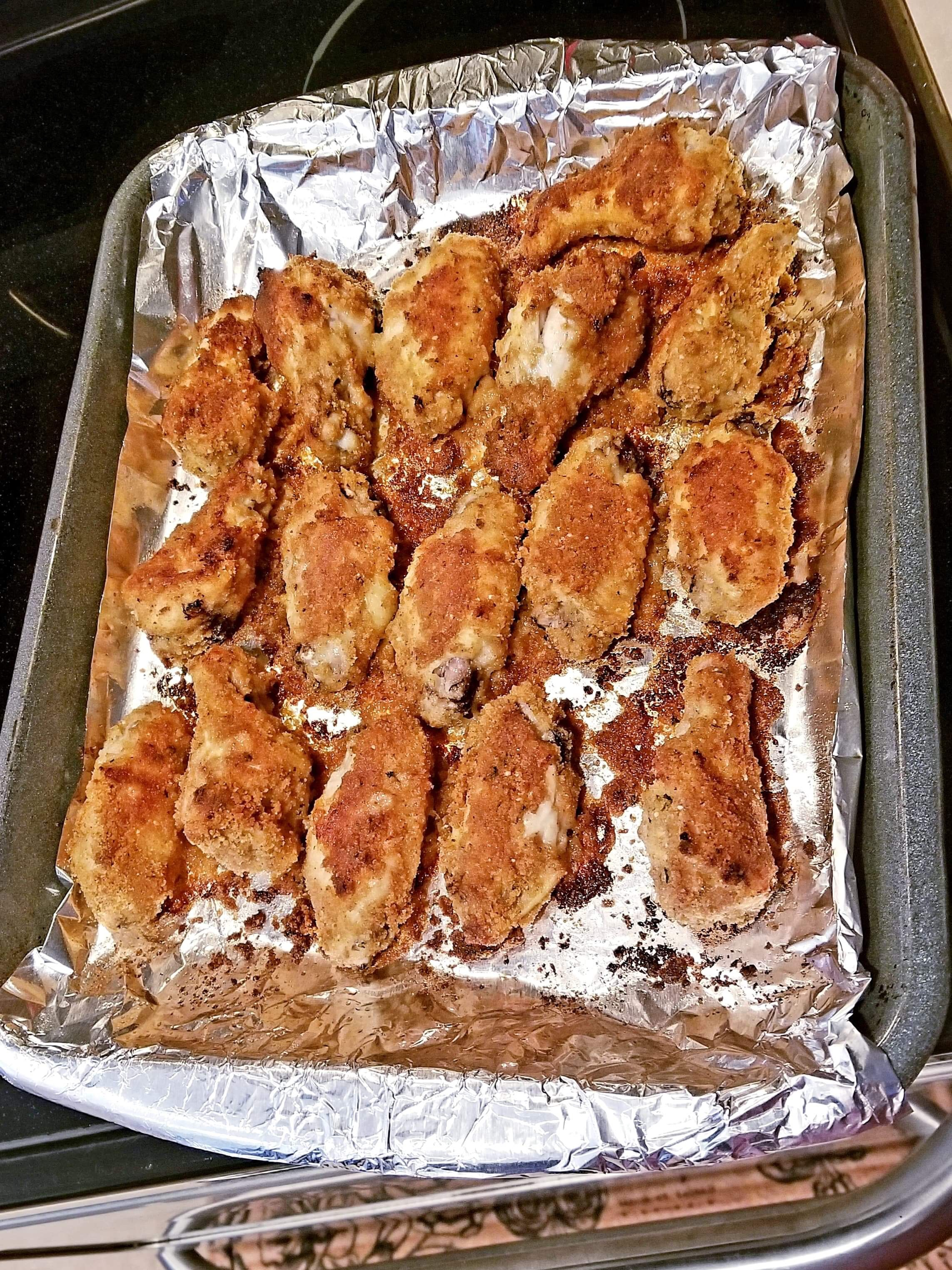 Oven Fried Chicken Wings Lisa