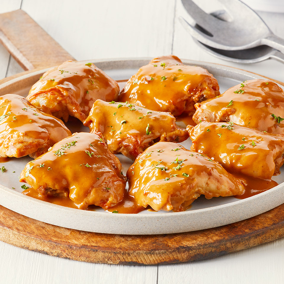 CAMPBELL'S(R) BBQ Bacon Slow Cooker Chicken Campbell's Canada