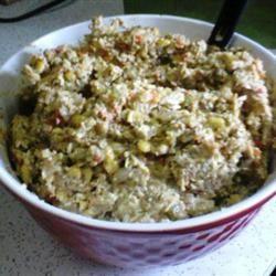 Poblano Chicken Salad Karen Hintz
