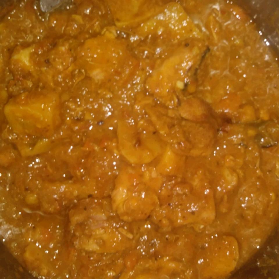 Braised Chicken Breasts in Tasty Mirepoix Ragout