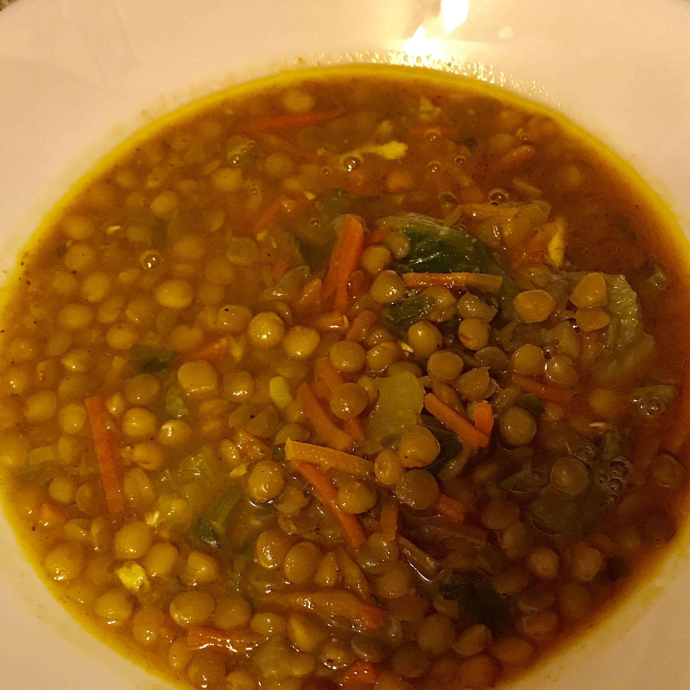 Lebanese Lemon Lentil Soup