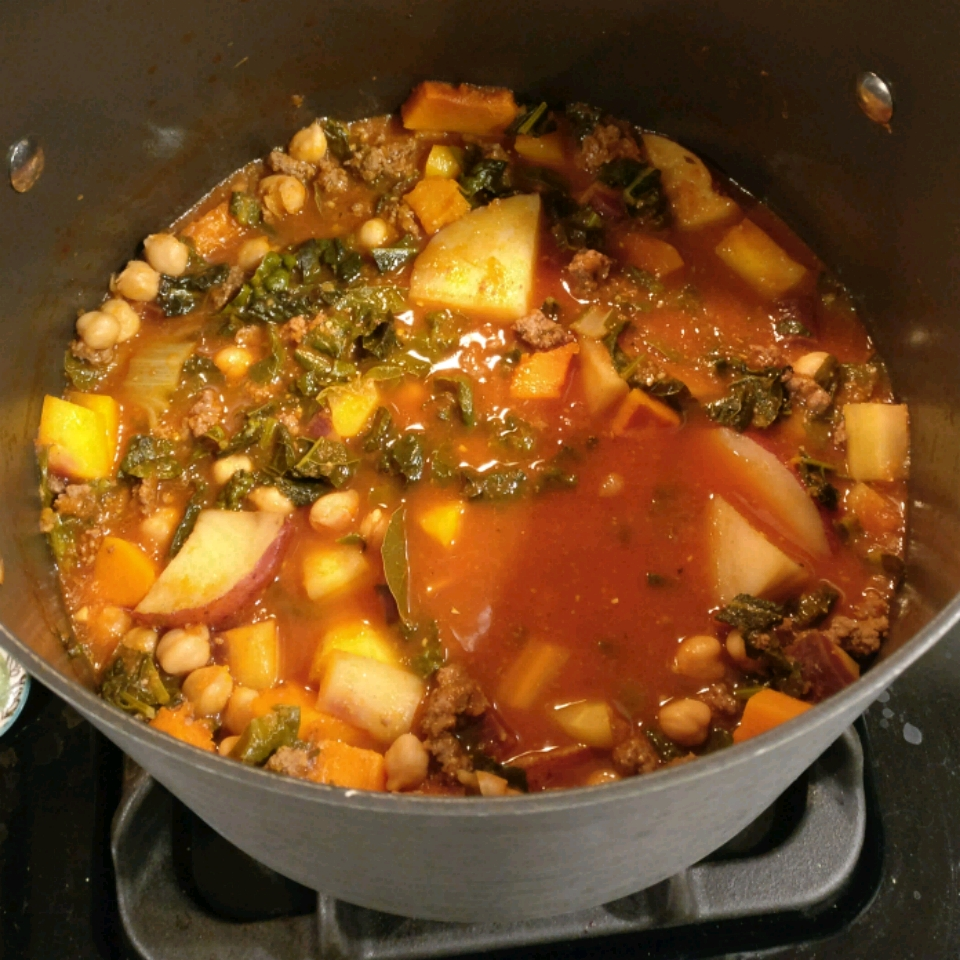 Roasted Tomato And Vegetable Soup Recipe: Roasted Vegetable And Kale Soup Recipe