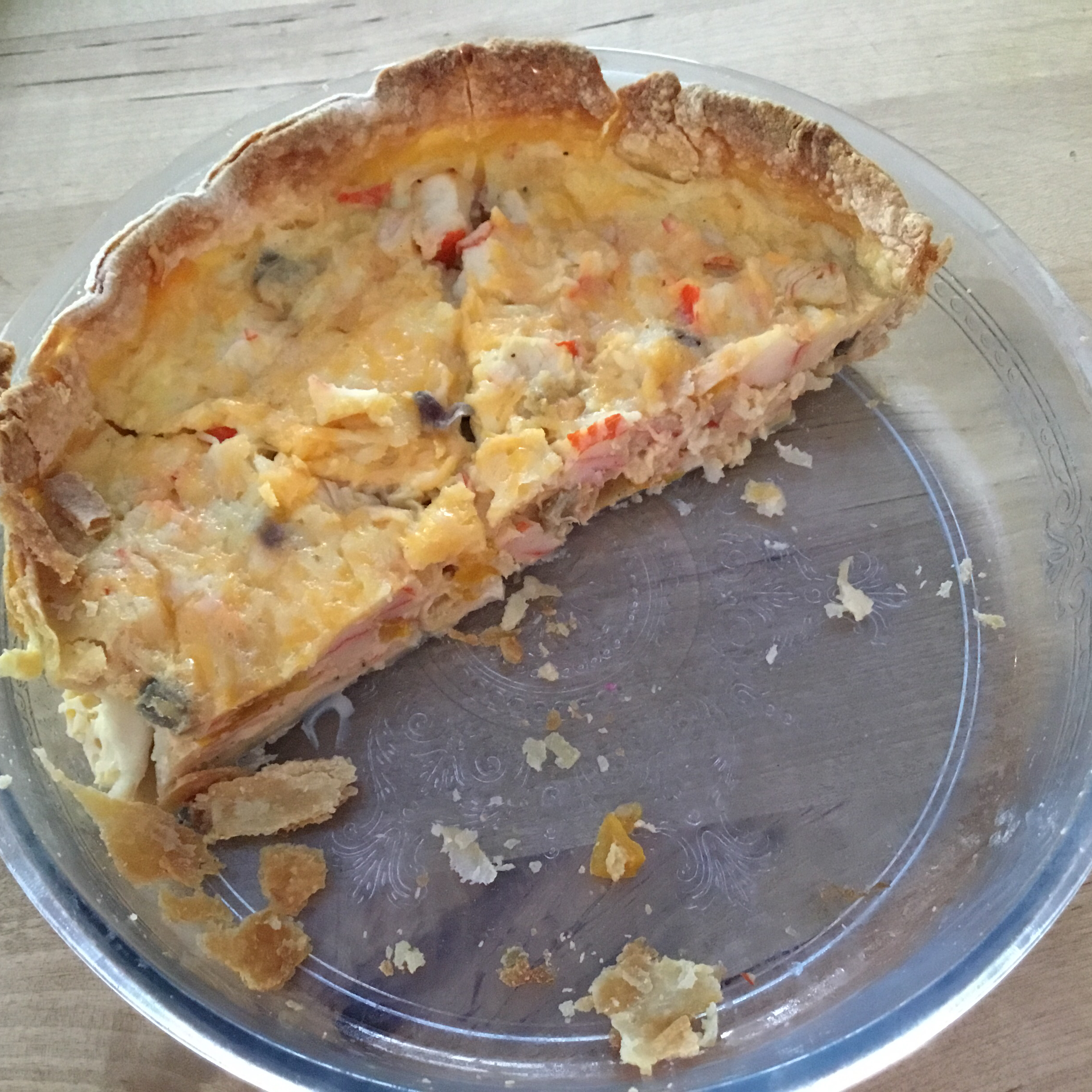 Crabmeat Quiche BRIGITS