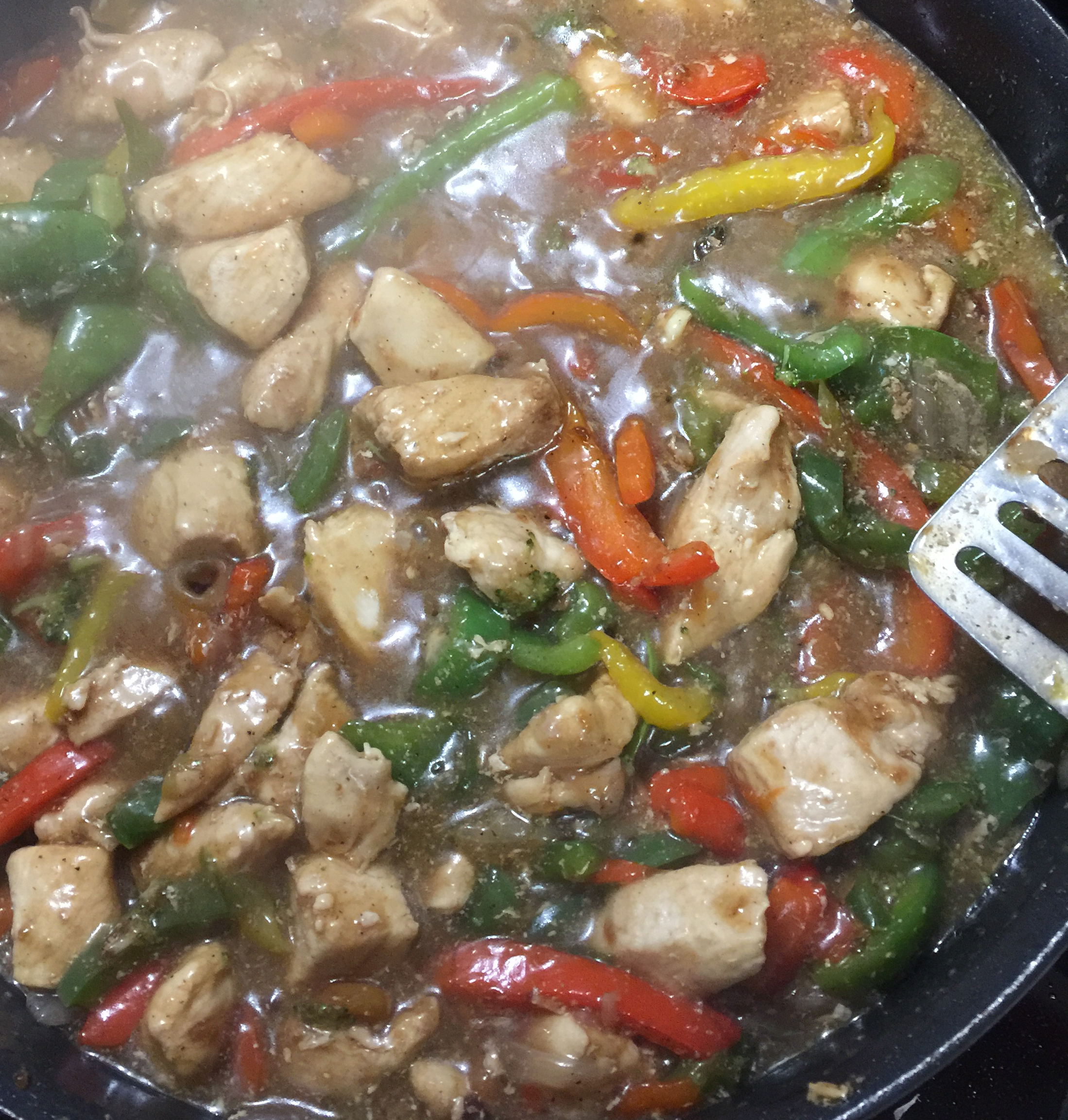 Garlic Chicken Stir Fry Amanda Wright