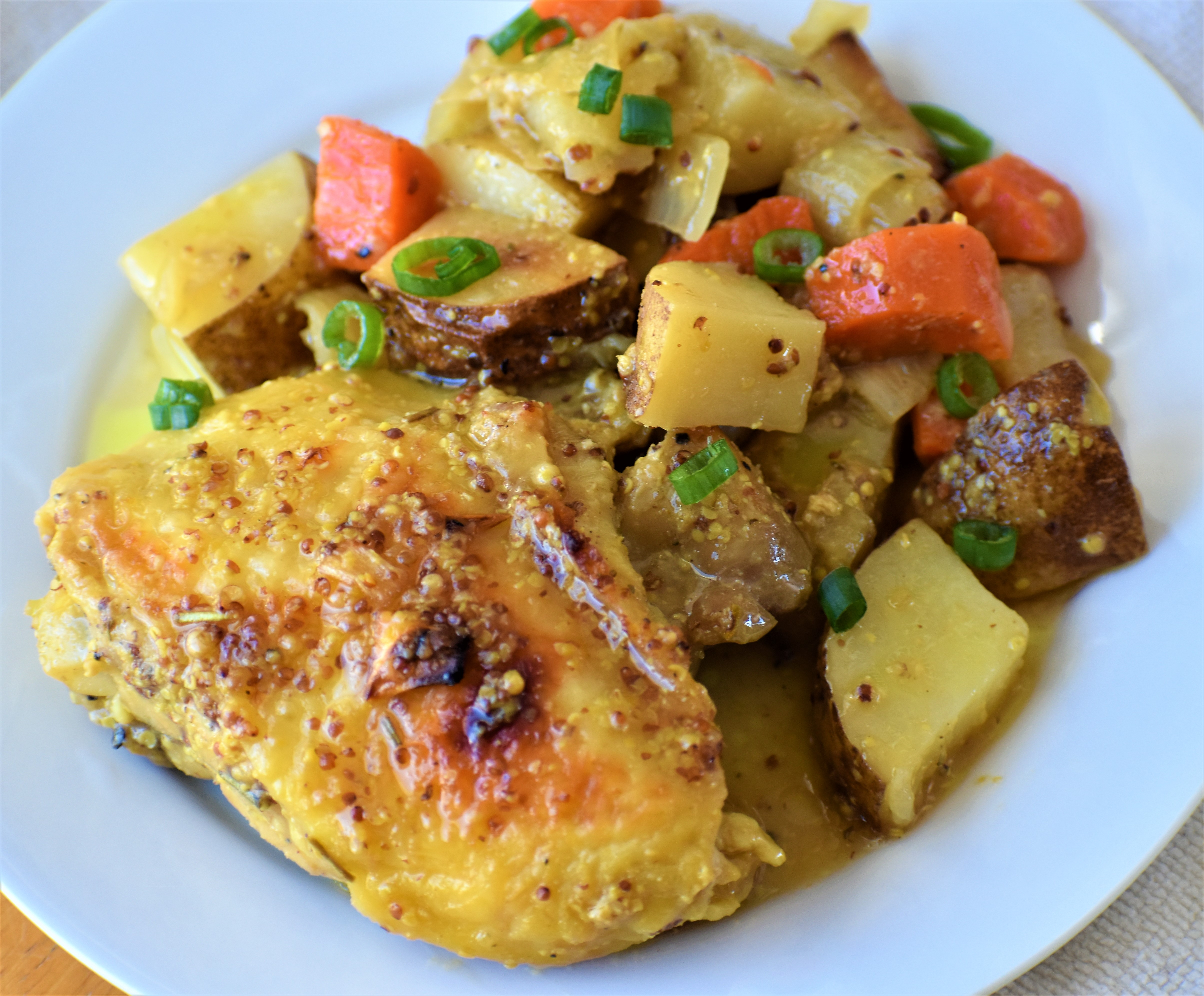 Easy Honey-Mustard Chicken and Potato Bake 440DartRacer